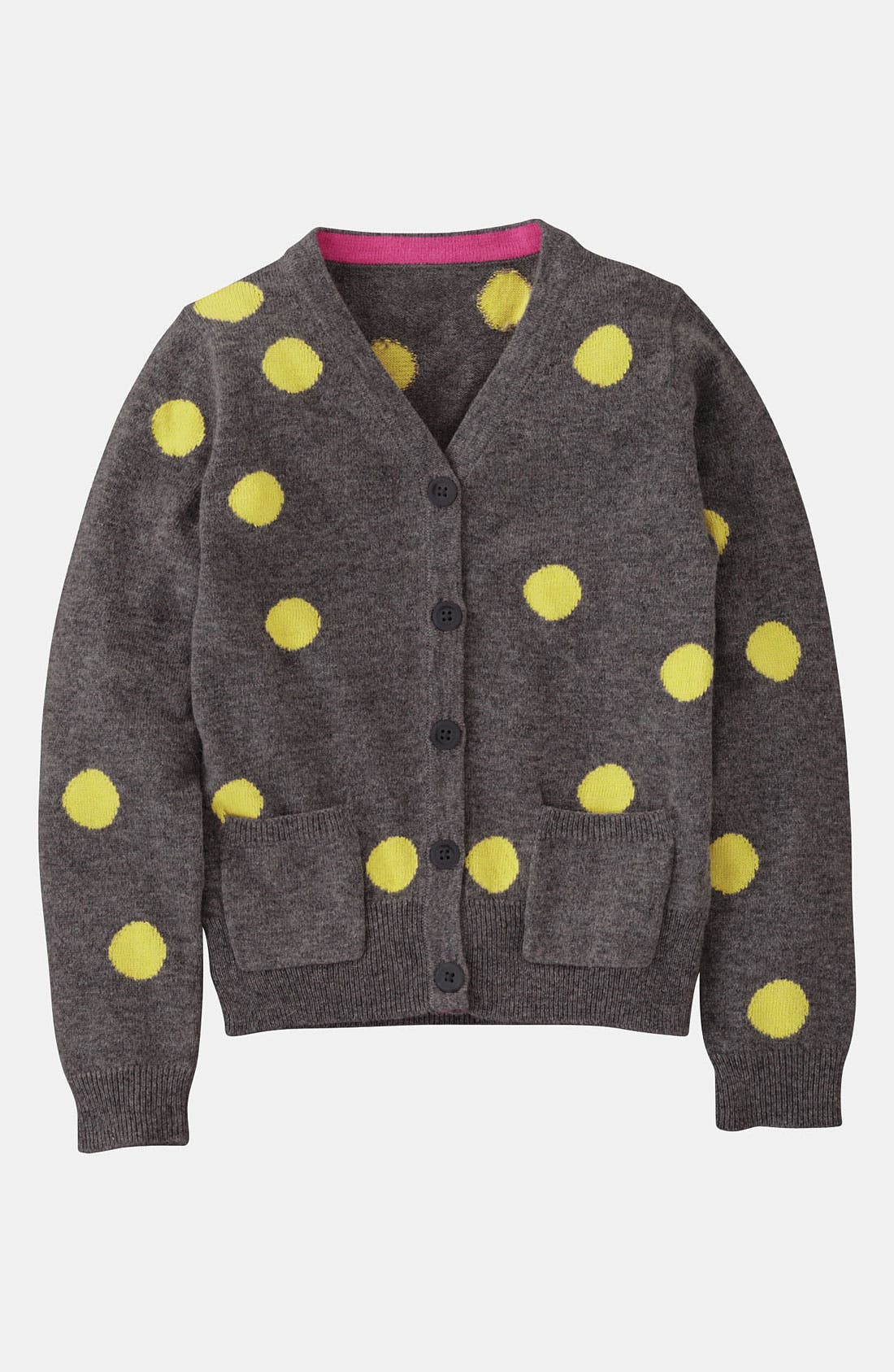 Alternate Image 1 Selected - Mini Boden 'Hotchpotch' Cardigan (Little Girls & Big Girls)