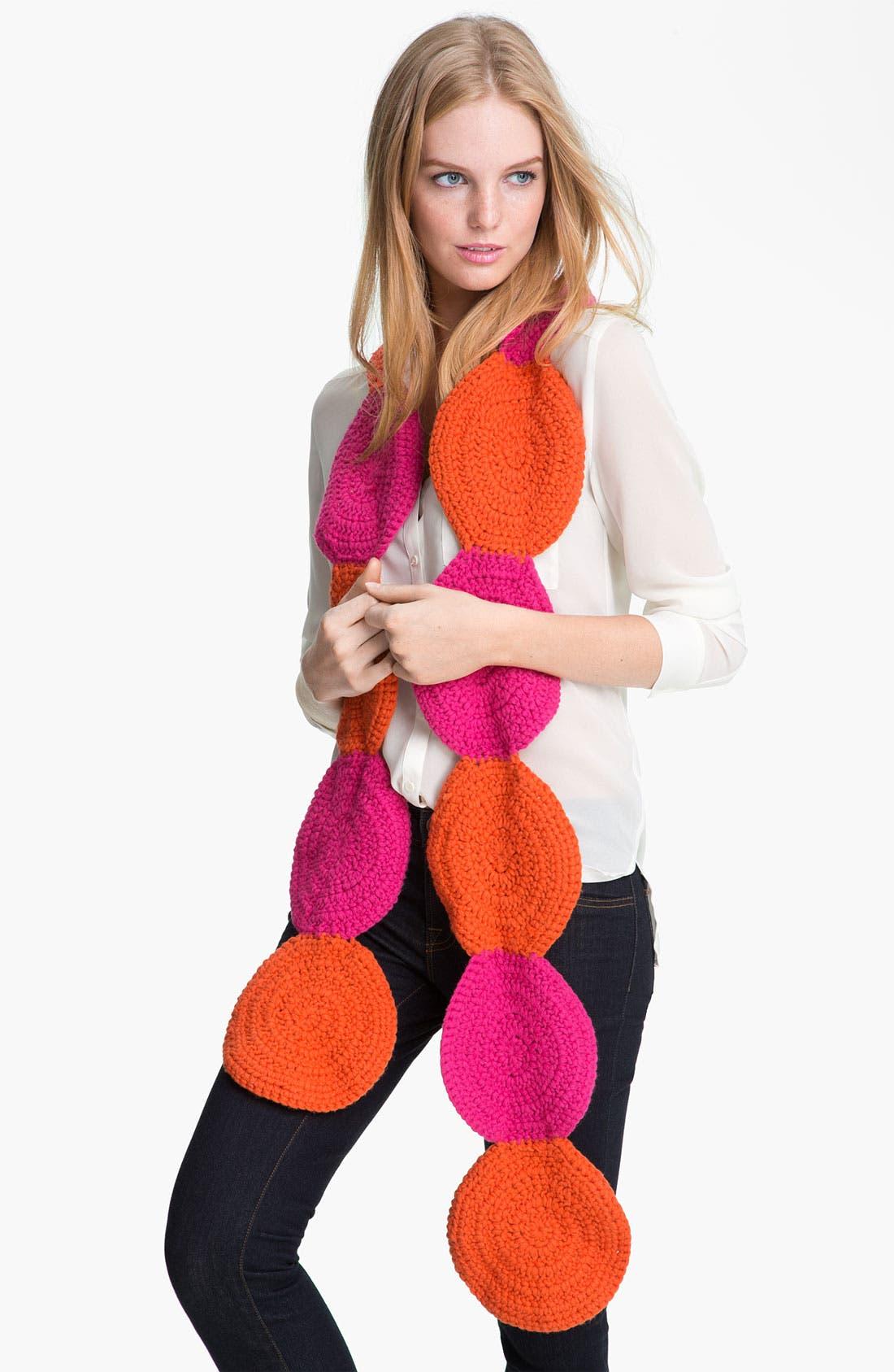 Alternate Image 1 Selected - kate spade new york 'women for women' crochet circle scarf