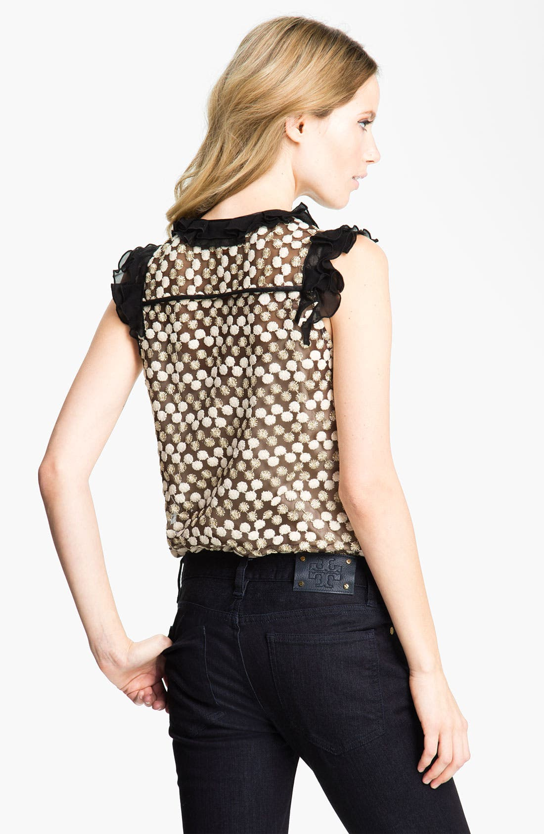 Alternate Image 2  - Tory Burch 'Arabelle' Embroidered Top