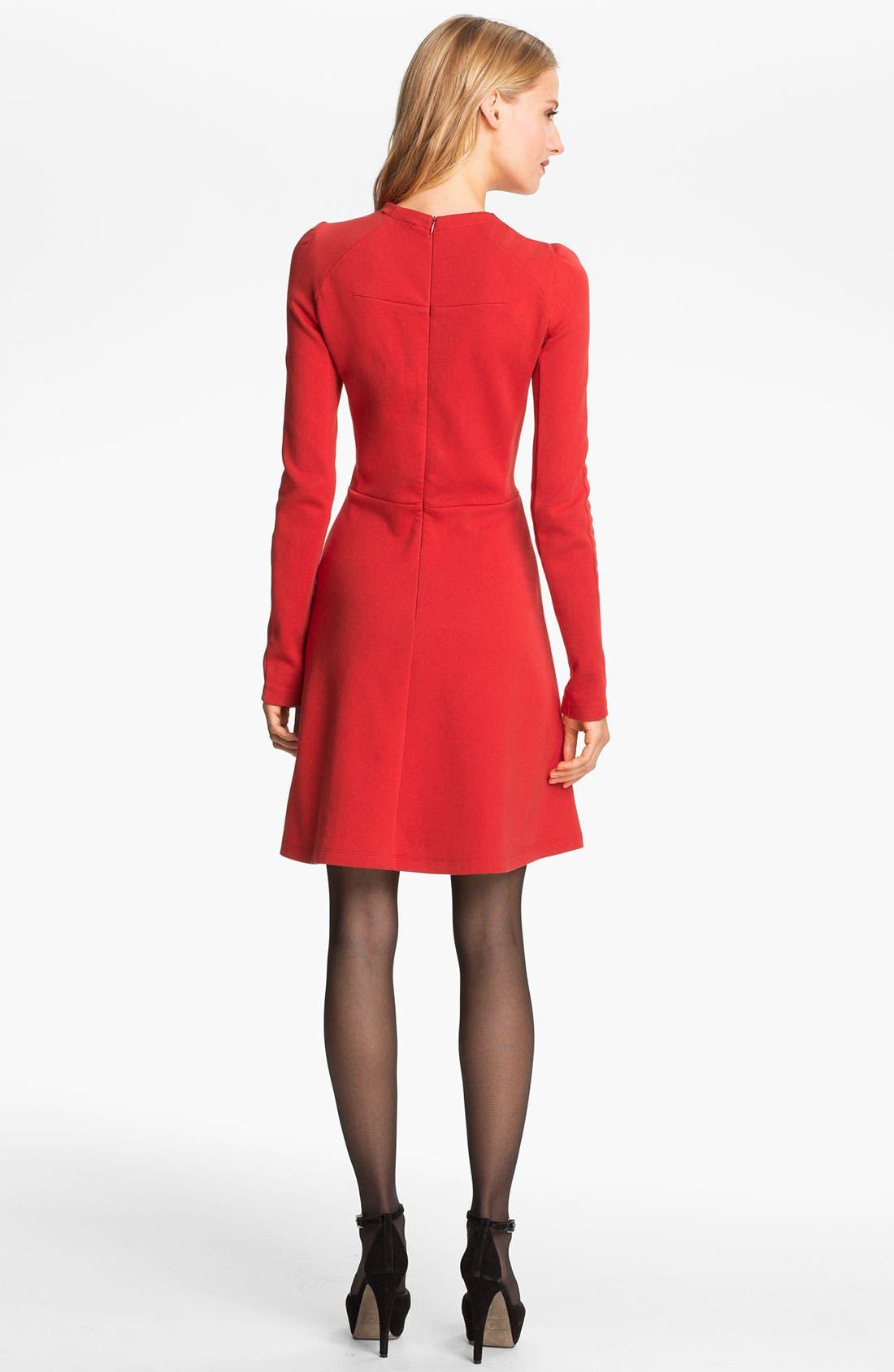Alternate Image 2  - Carven Seamed Jersey Dress