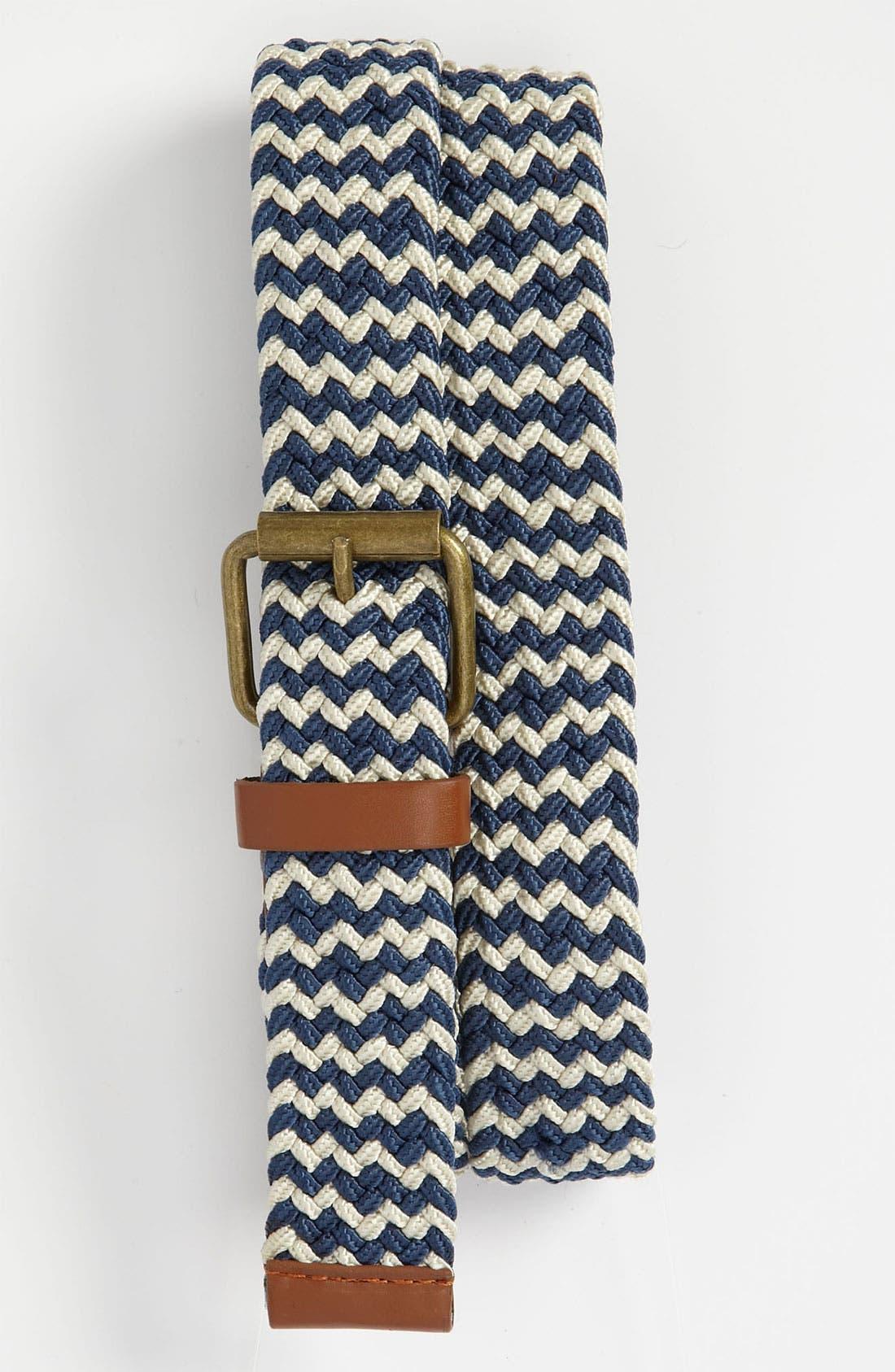 Main Image - Topman Woven Belt