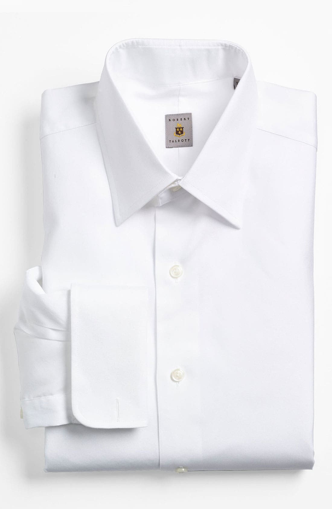 Alternate Image 1 Selected - Robert Talbott Regular Fit Tuxedo Shirt (Online Only)