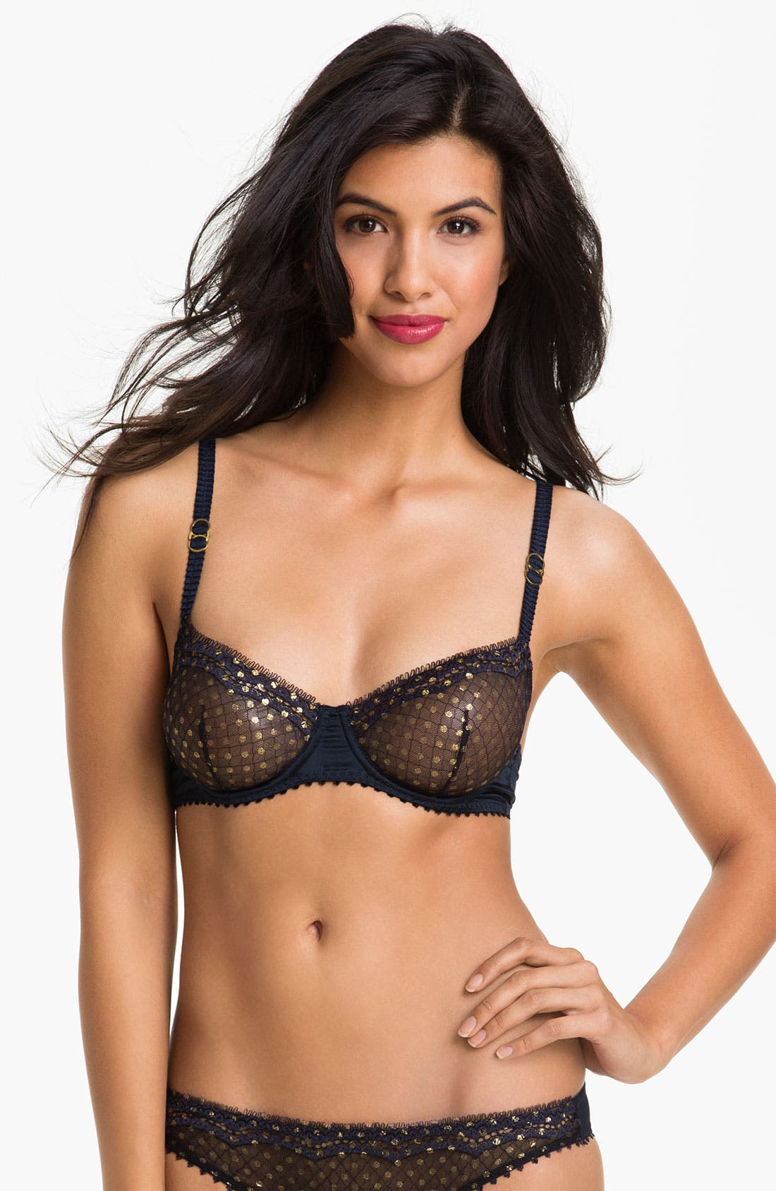 Alternate Image 1 Selected - Stella McCartney 'Emile Peeking' Underwire Balconette Bra