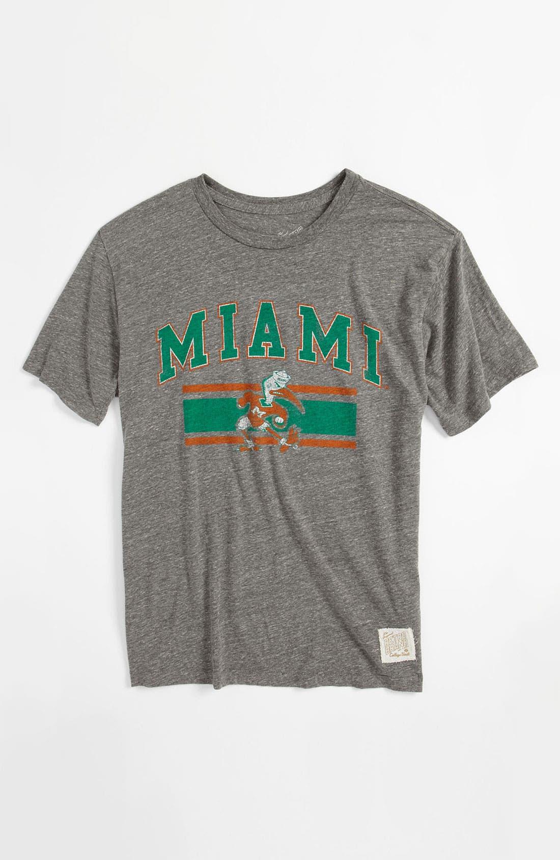 Alternate Image 1 Selected - Retro Brand 'Miami' T-Shirt (Big Boys)