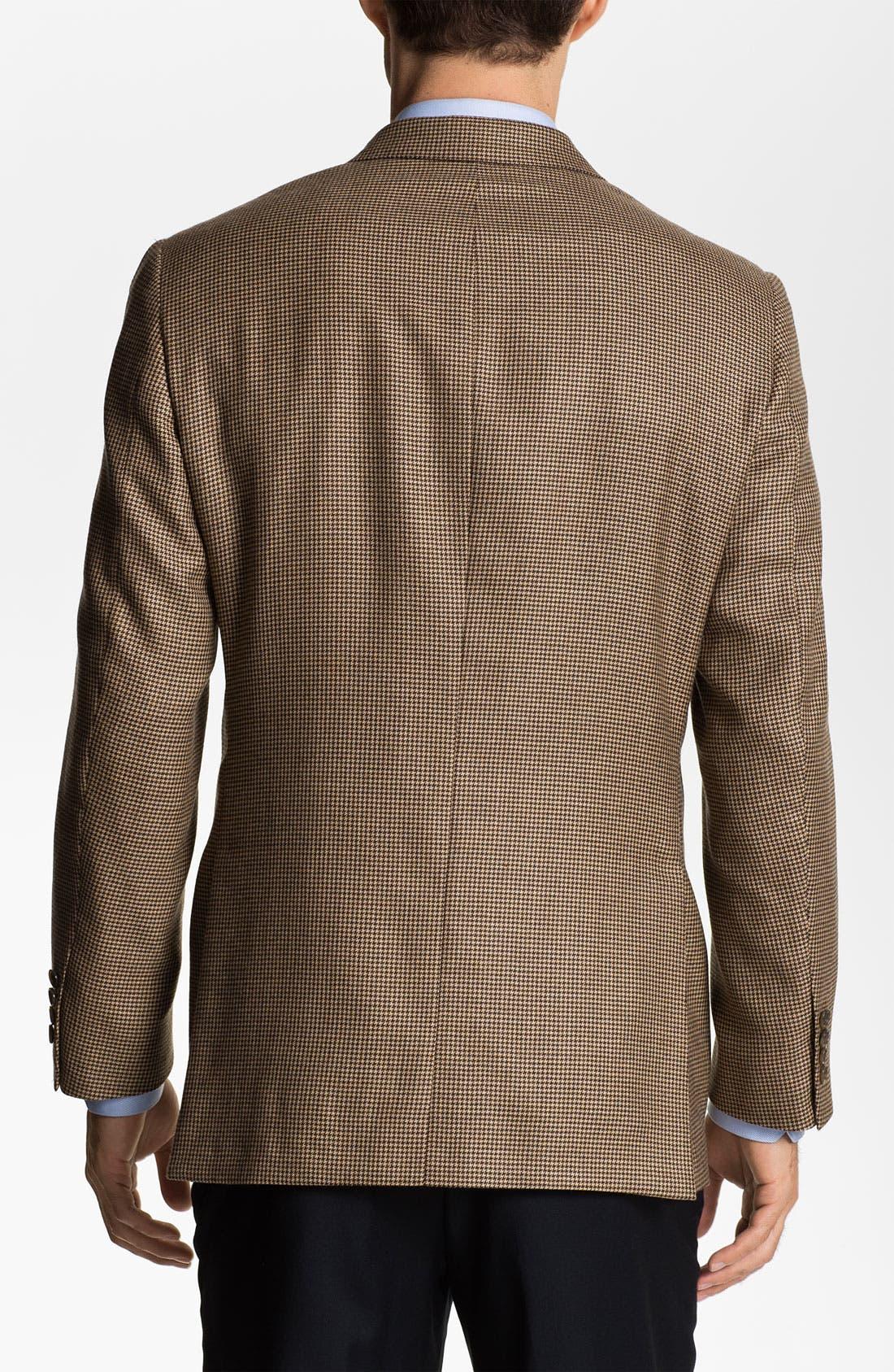 Alternate Image 2  - Samuelsohn Cashmere Houndstooth Sportcoat