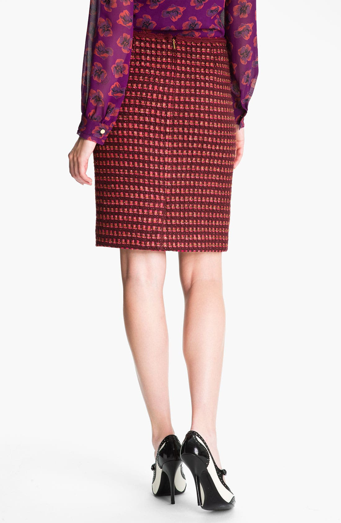 Alternate Image 2  - Tory Burch 'Victory' Pencil Skirt