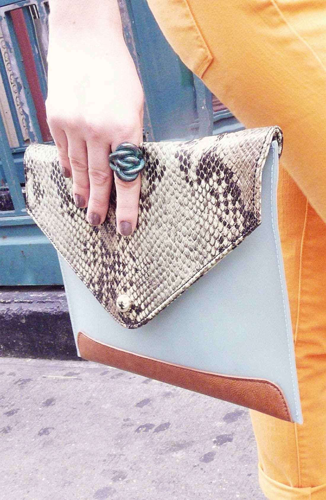 Alternate Image 5  - Danielle Nicole 'Sienna' Envelope Clutch