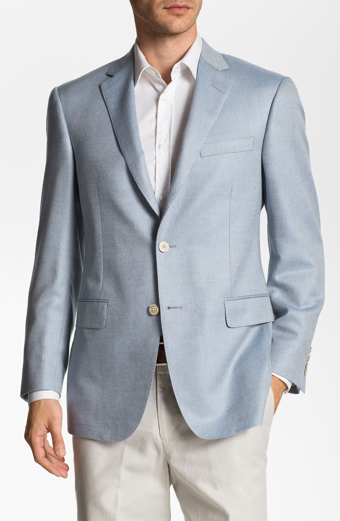 Alternate Image 1 Selected - Samuelsohn Silk & Cashmere Blazer