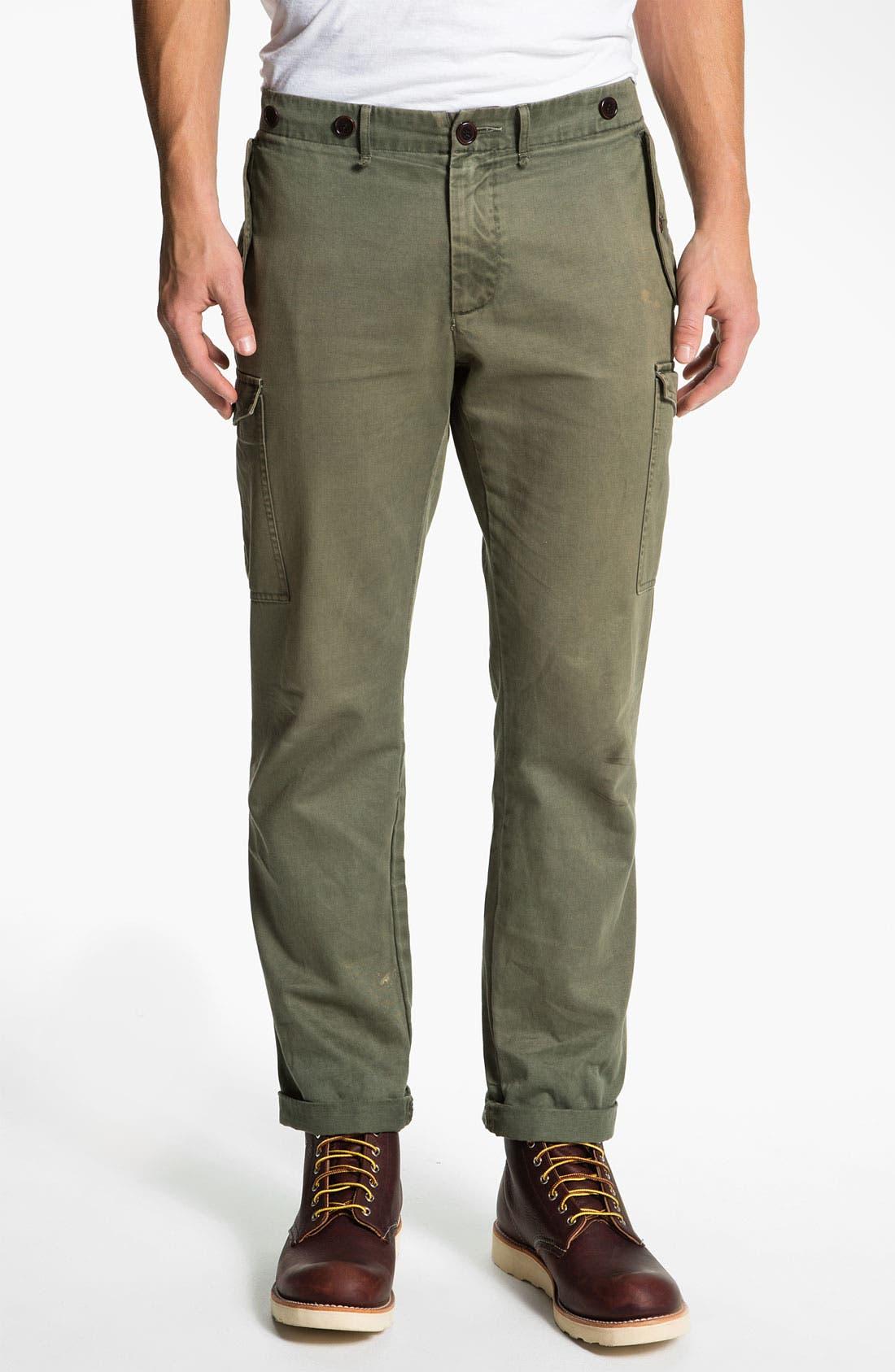 Main Image - Riviera Club Slim Straight Leg Cargo Pants