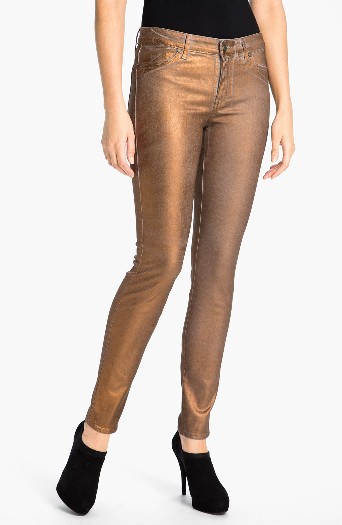 Main Image - CJ by Cookie Johnson 'Joy' Stretch Skinny Jeans (Champagne Dust)