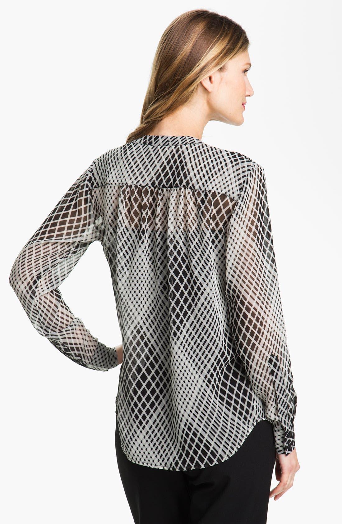 Alternate Image 2  - Bellefleur Crystal Print Blouse