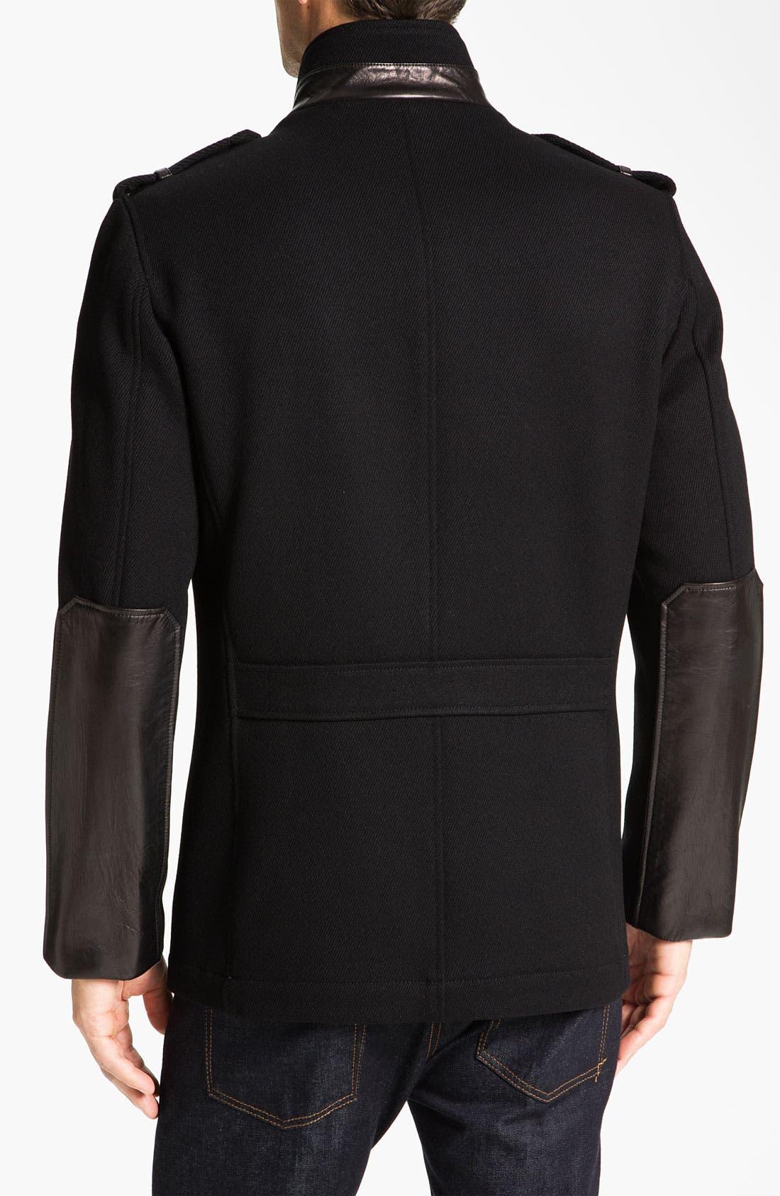 Alternate Image 2  - Cole Haan Twill Military Jacket