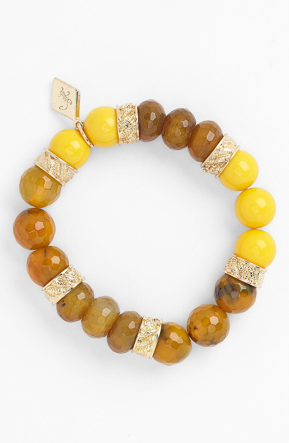 Alternate Image 1 Selected - Sequin Beaded Stretch Bracelet (Nordstrom Exclusive)