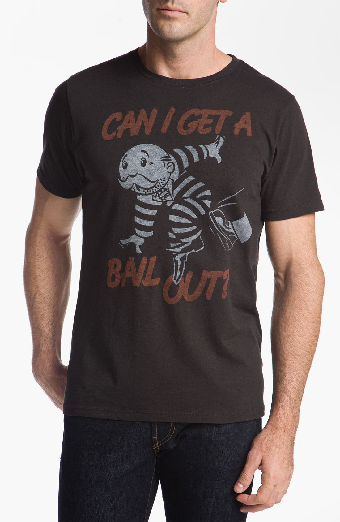 "Alternate Image 1 Selected - Junk Food 'Can I Get a Bail Out"" Graphic T-Shirt"