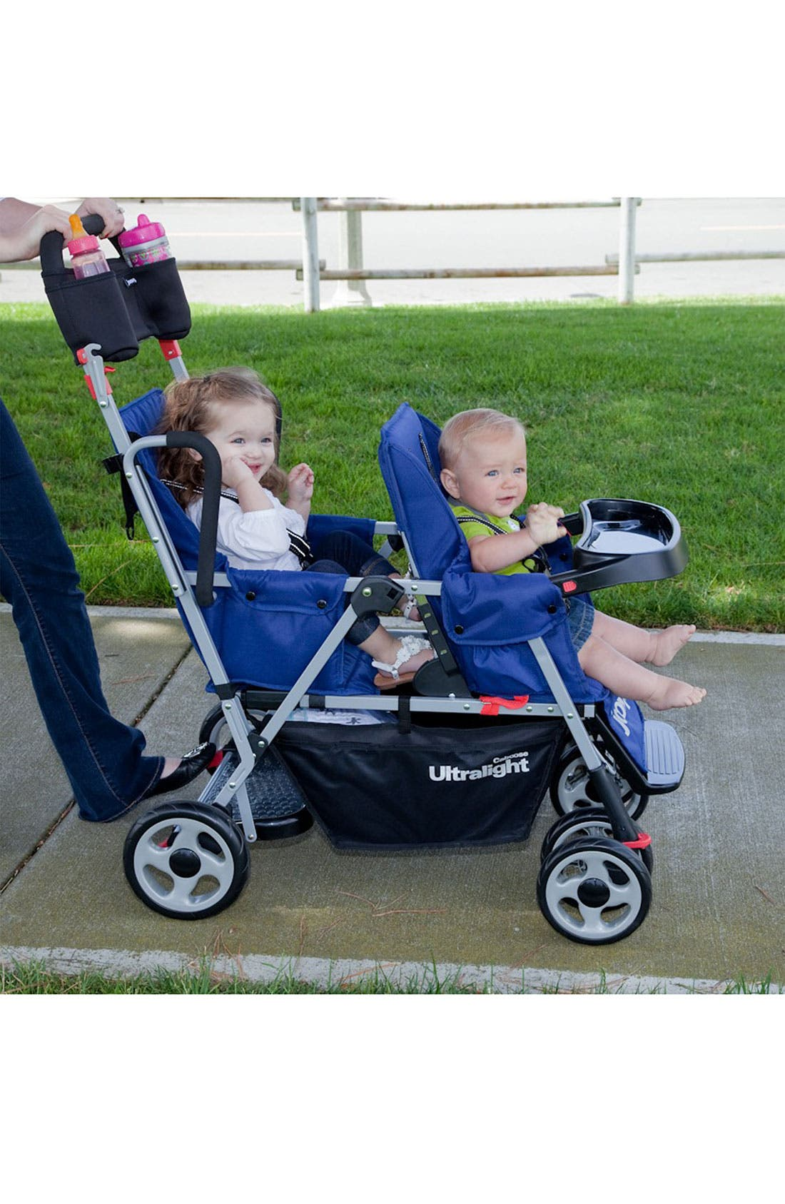 Alternate Image 2  - Joovy 'Caboose Ultralight - Stand-On Tandem' Stroller