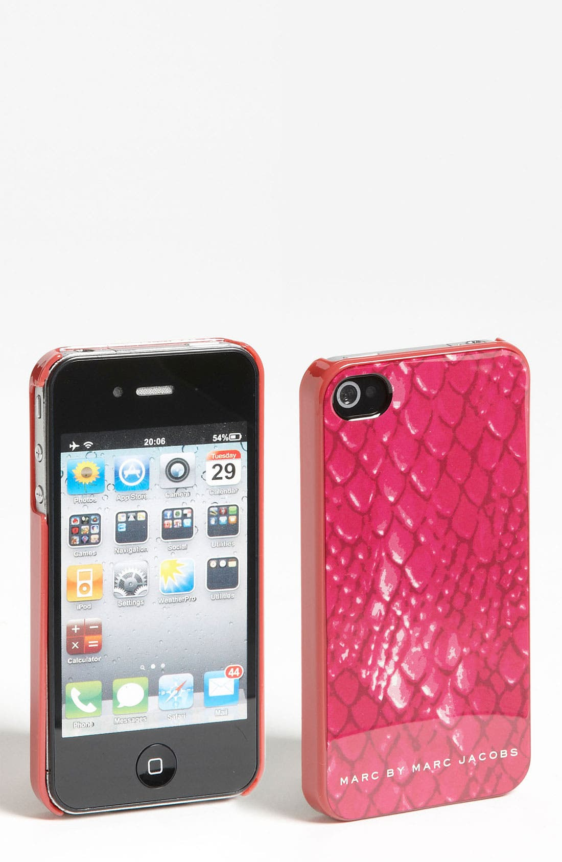 Alternate Image 1 Selected - MARC BY MARC JACOBS 'Dragon Scale' iPhone 4 & 4S Case