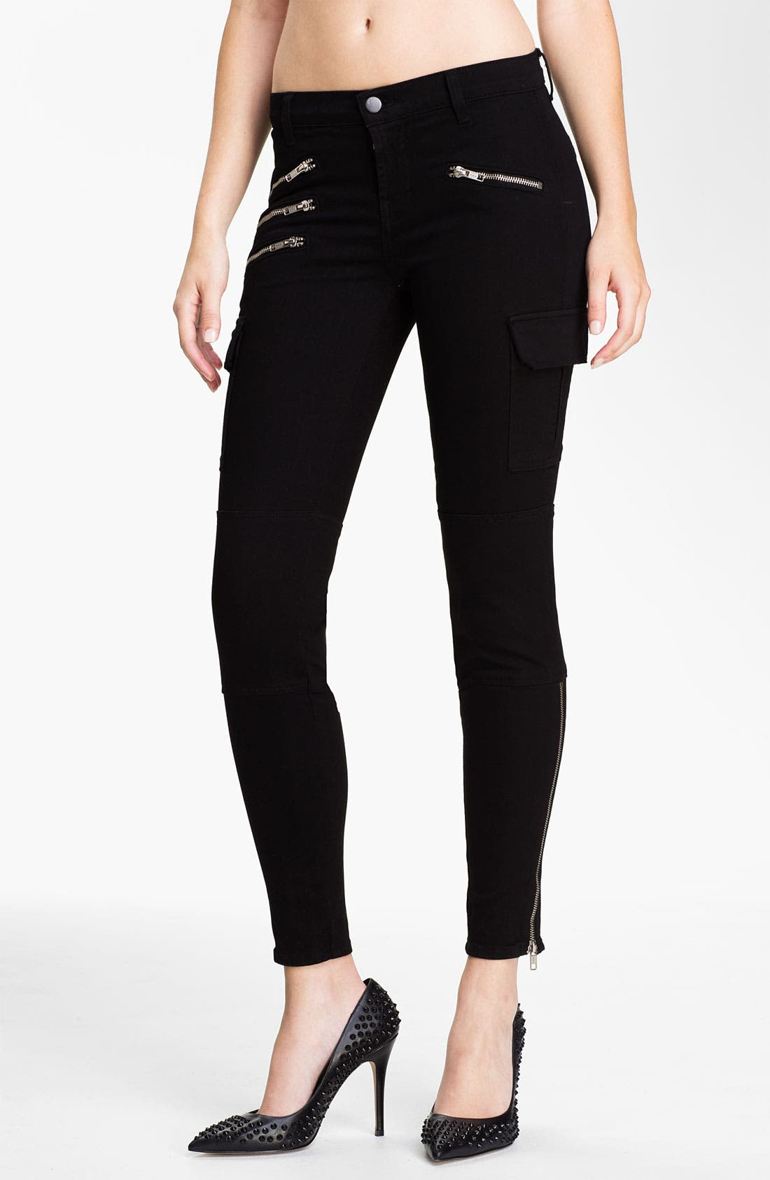 Alternate Image 1 Selected - J Brand 'The Brix' Slim Leg Pants