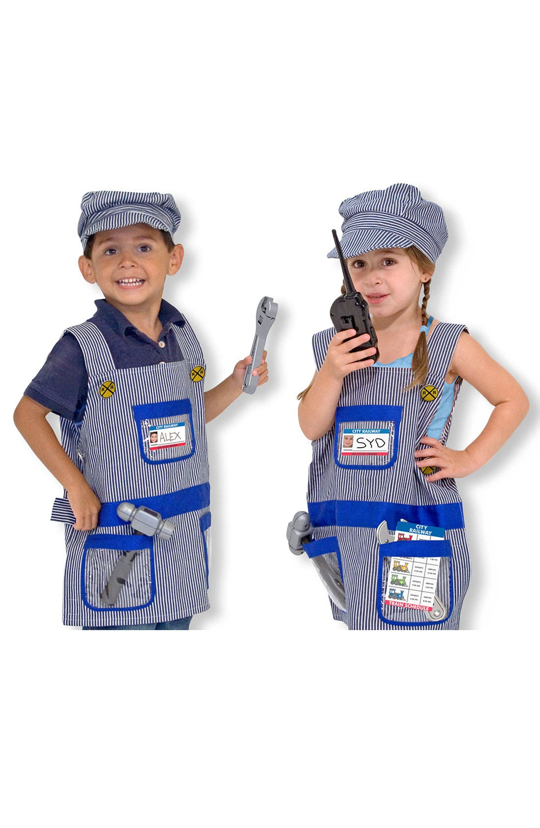 Alternate Image 1 Selected - Melissa & Doug 'Train Engineer' Costume (Toddler)
