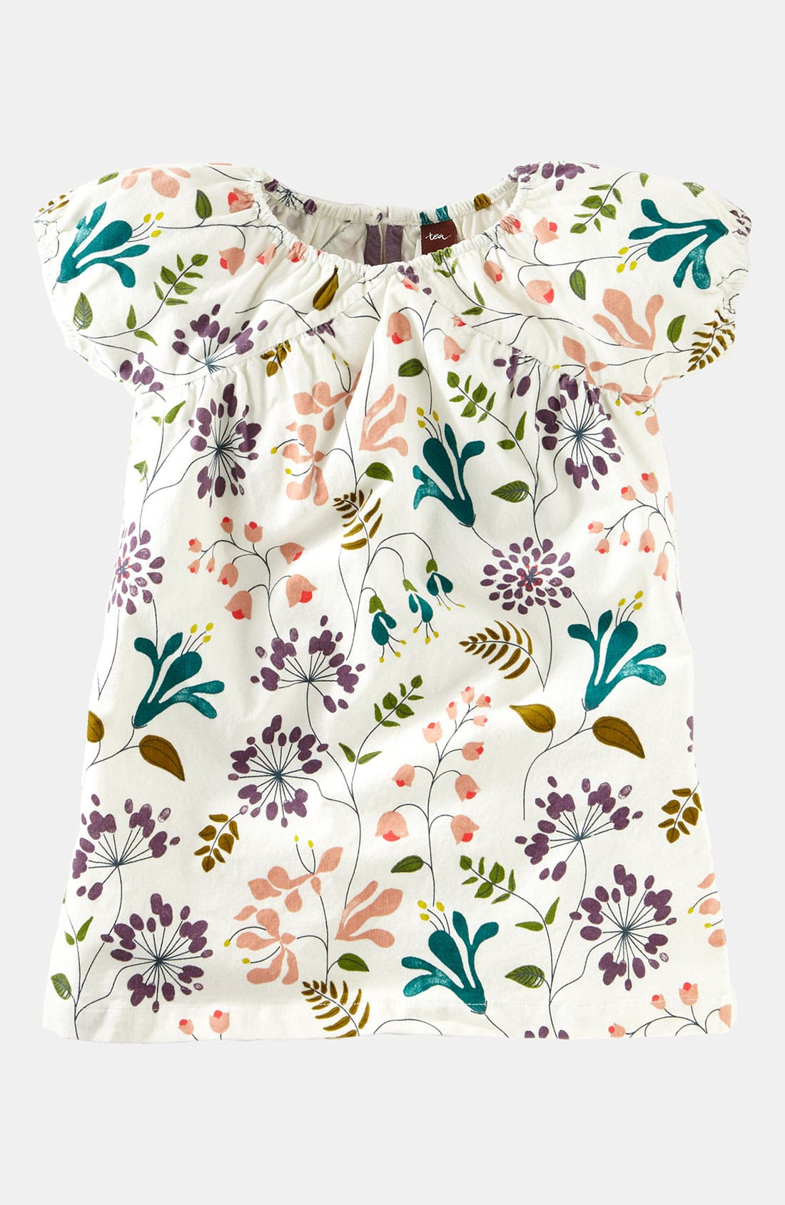 Alternate Image 1 Selected - Tea Collection 'Honeysuckle' Corduroy Dress (Toddler)