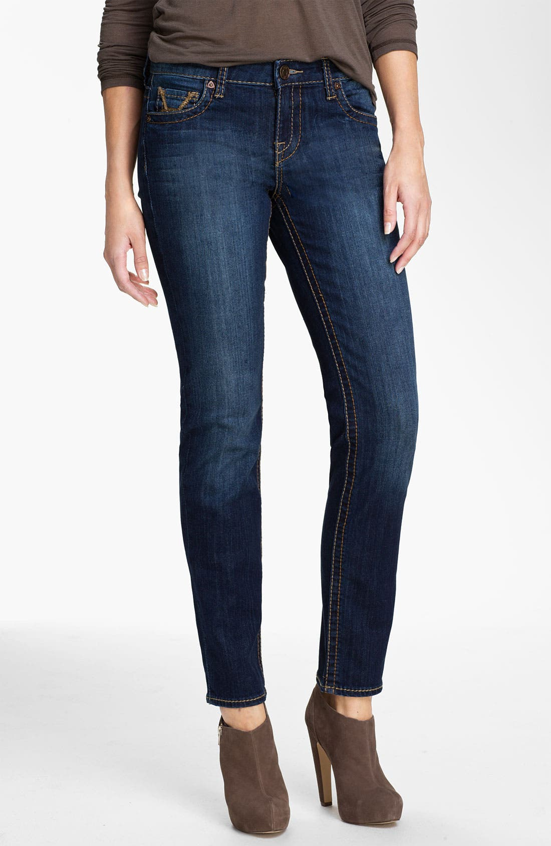Alternate Image 1 Selected - KUT from the Kloth 'Stevie' Straight Leg Jeans (Gratitude) (Online Only)