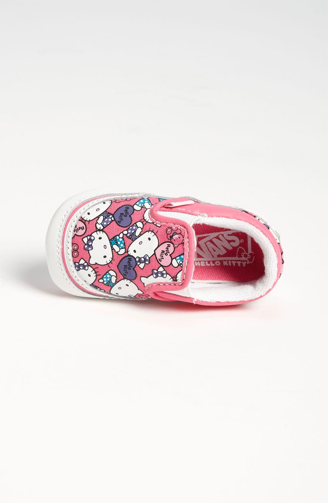 Alternate Image 3  - Vans 'Classic - Hello Kitty®' Crib Shoe (Infant)