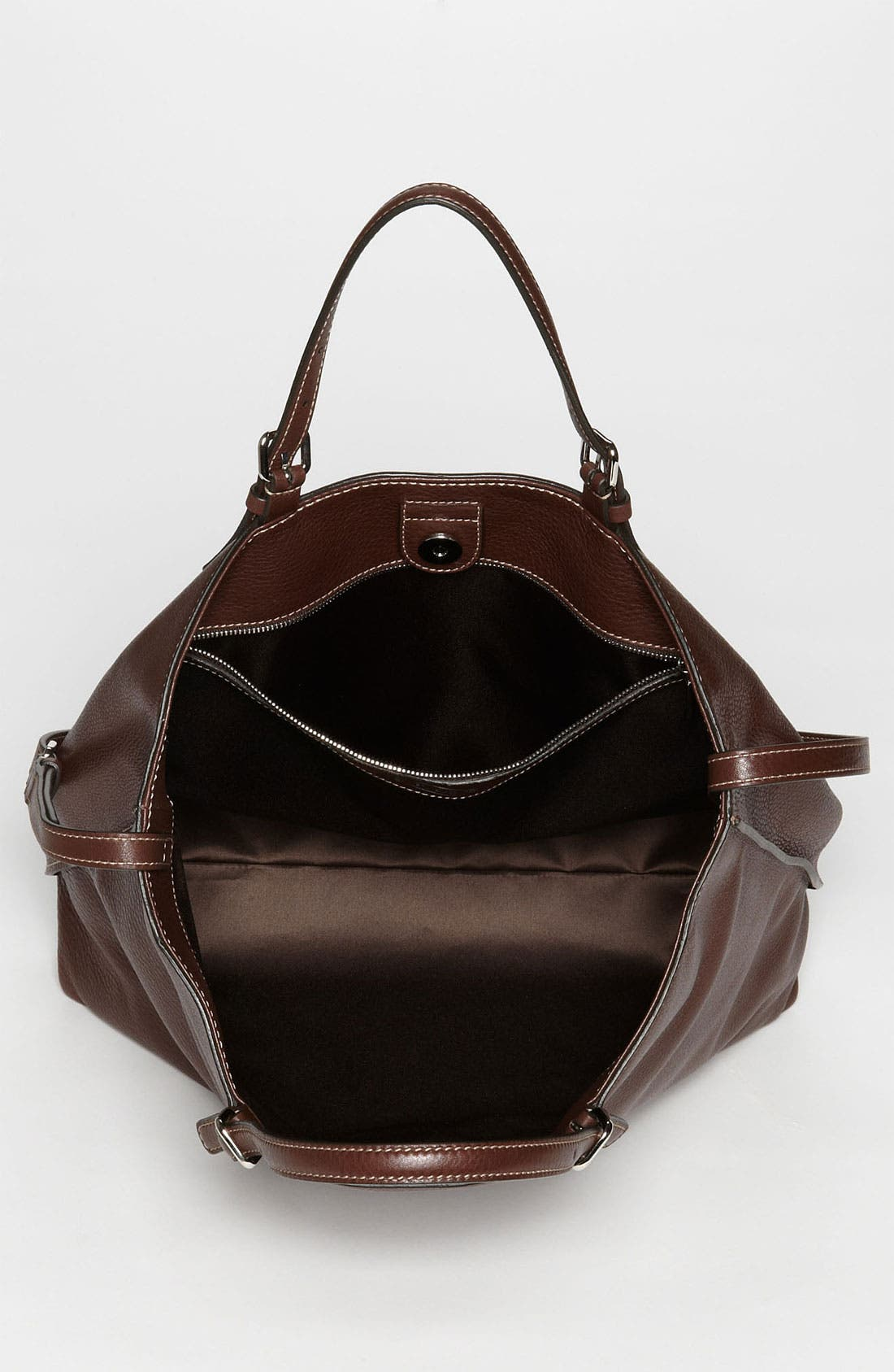 Alternate Image 3  - Tod's 'Logo - Media' Leather Shopper
