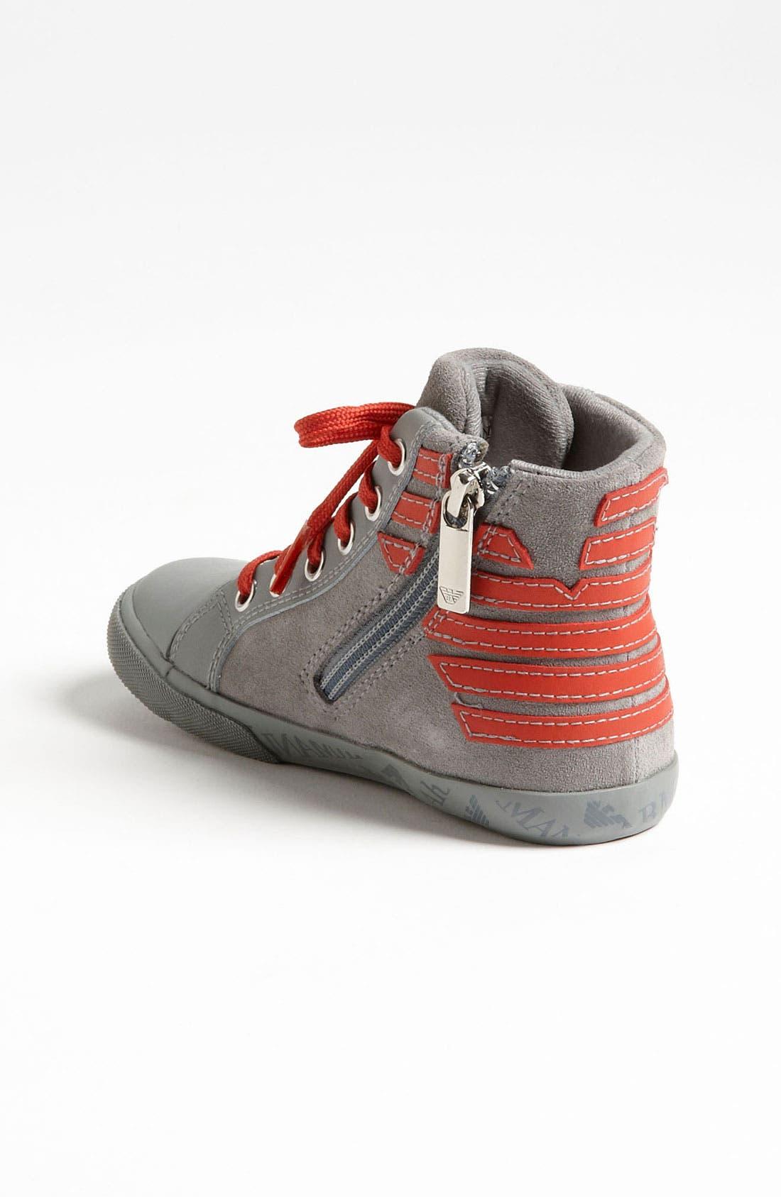 Alternate Image 2  - Armani Junior 'Eagle' Sneaker (Walker & Toddler)