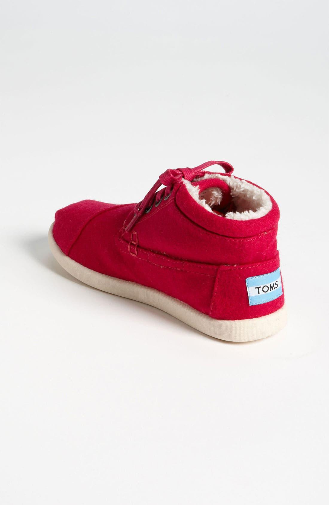 Alternate Image 2  - TOMS 'Botas - Youth' Wool Boot (Toddler, Little Kid & Big Kid)