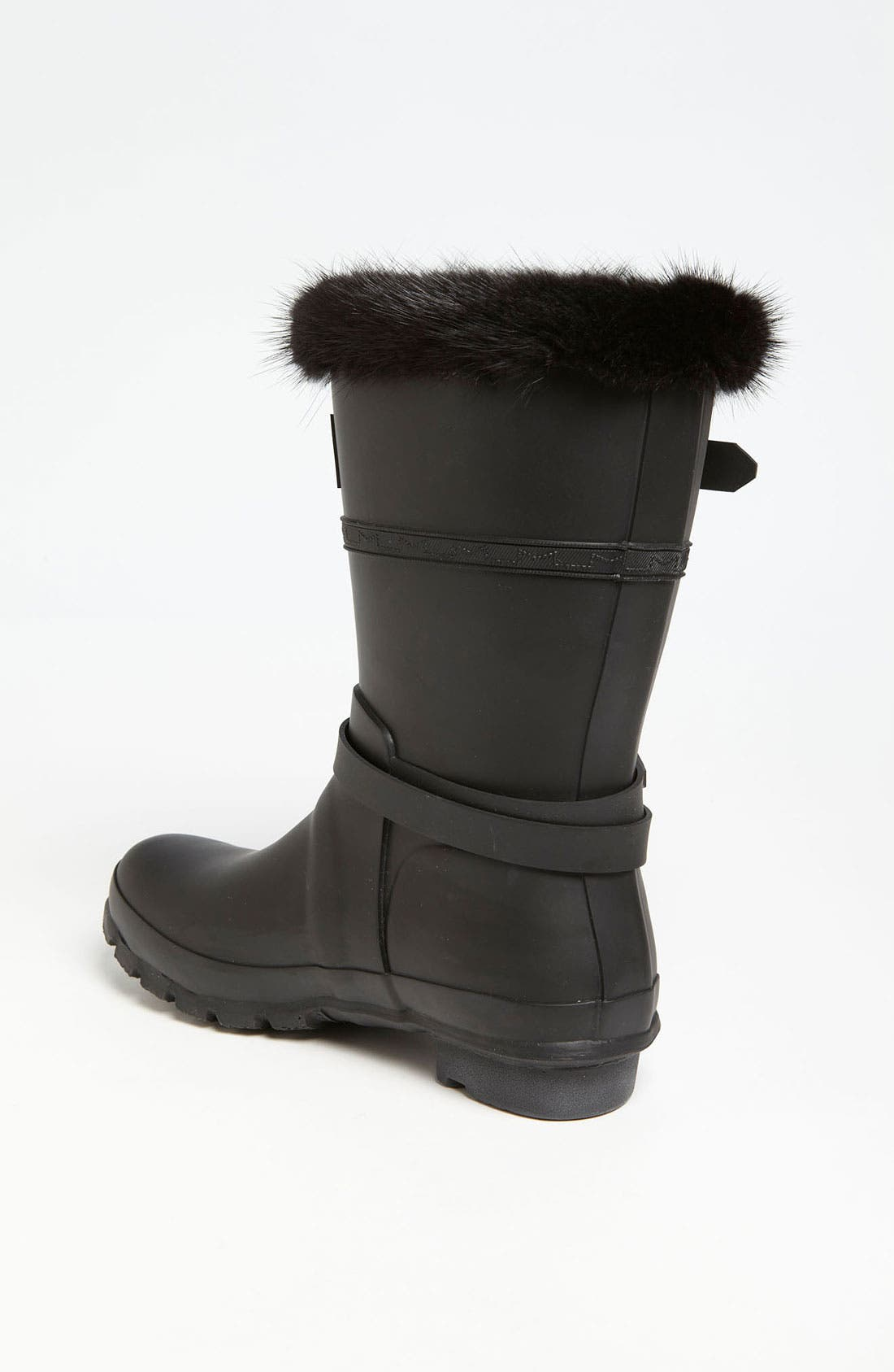 Alternate Image 2  - Hunter for J. Mendel Genuine Fur Trim Boot (Women)