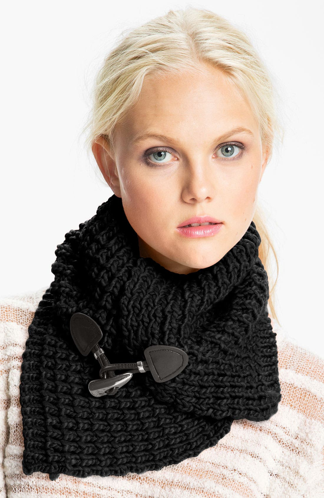 Alternate Image 1 Selected - MICHAEL Michael Kors Toggle Neck Warmer