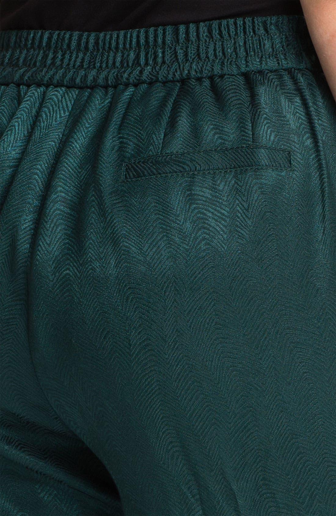 Alternate Image 3  - Sejour Slim Jacquard Pants (Plus)