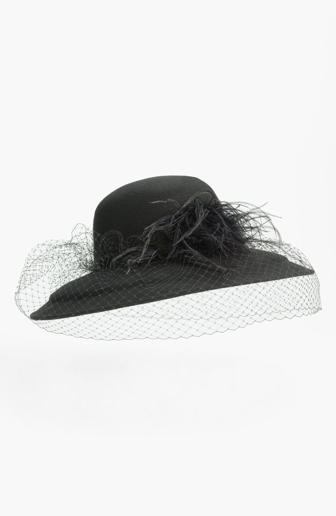 Alternate Image 1 Selected - August Hat 'Angelica' Wide Brim Hat