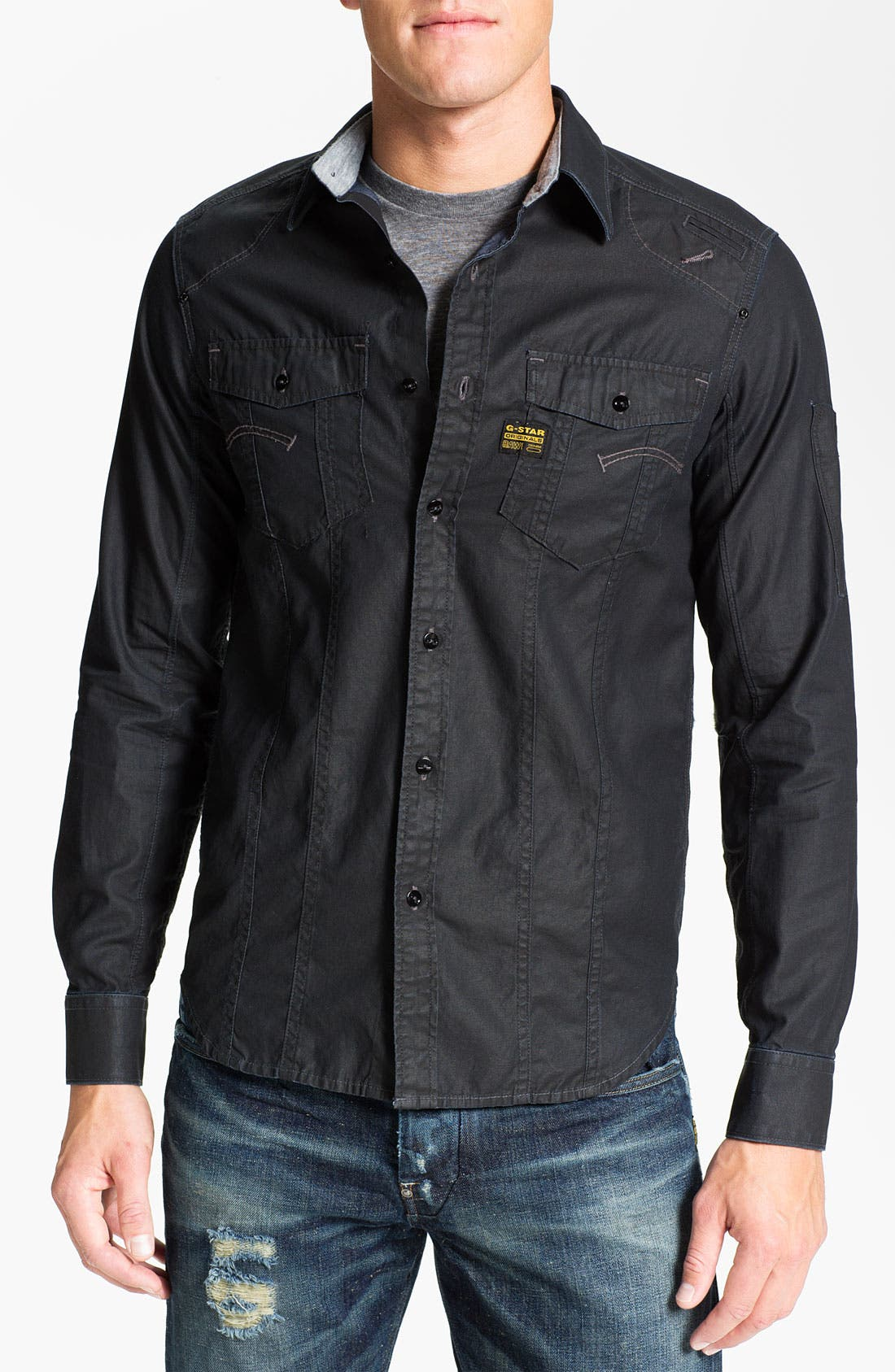 Alternate Image 1 Selected - G-Star Raw 'Modernist' Work Shirt