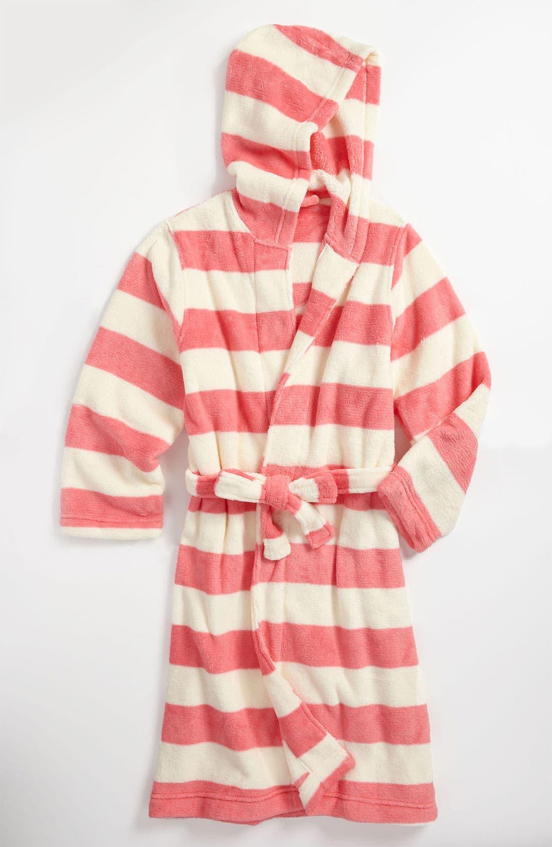 Alternate Image 1 Selected - Tucker + Tate Hooded Robe (Little Girls & Big Girls)
