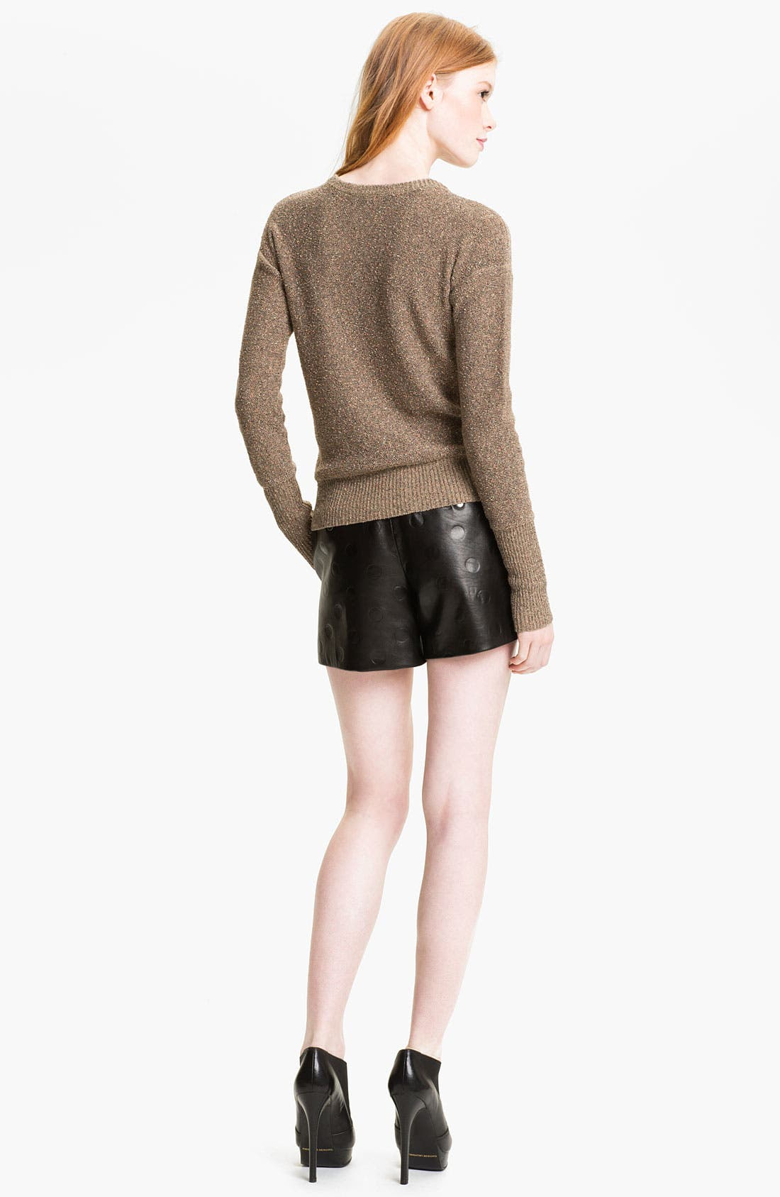 Alternate Image 5  - MARC BY MARC JACOBS 'Gia' Dot Leather Shorts