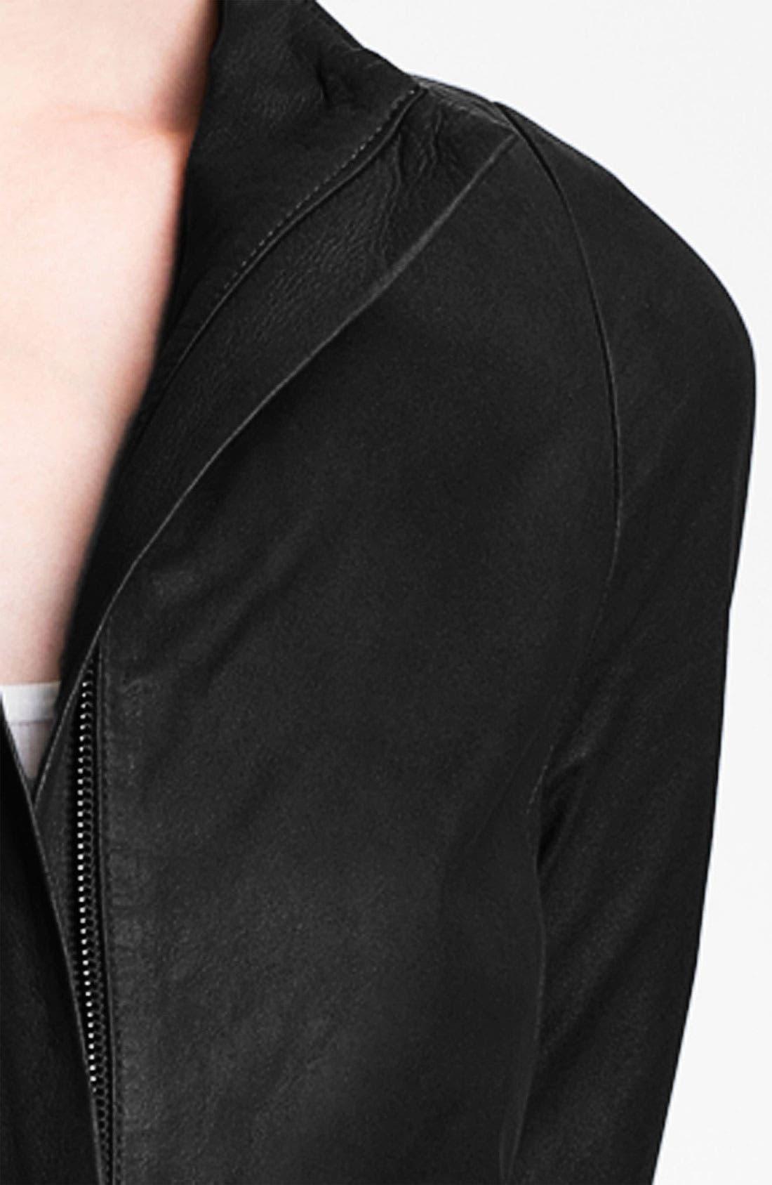 Alternate Image 3  - Vince Leather Jacket