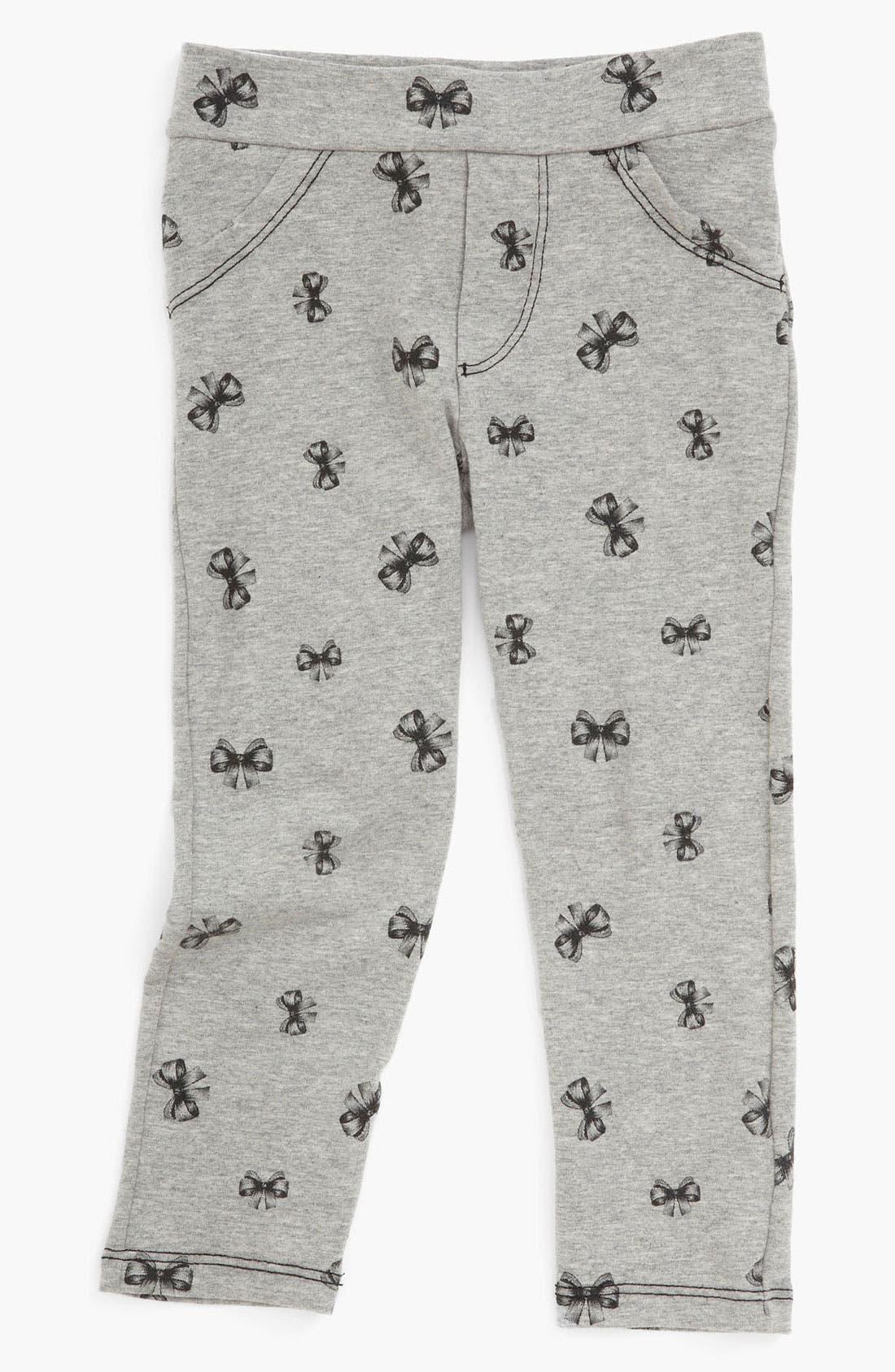 Alternate Image 2  - TA-EAM Skinny Leg Pants (Toddler)