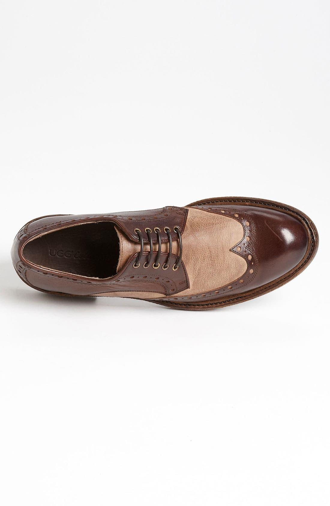 Alternate Image 3  - UGG® Collection 'Allcott' Spectator Shoe (Men)