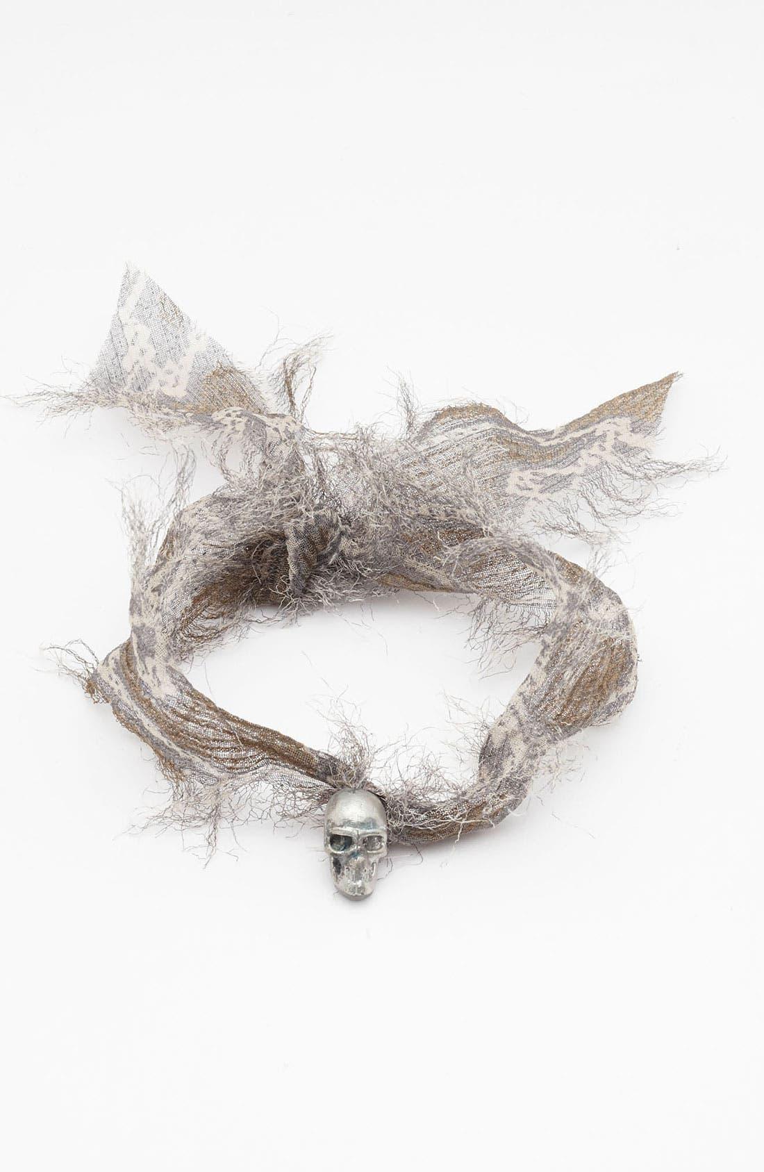 Alternate Image 1 Selected - Chan Luu Chiffon Tie Bracelet