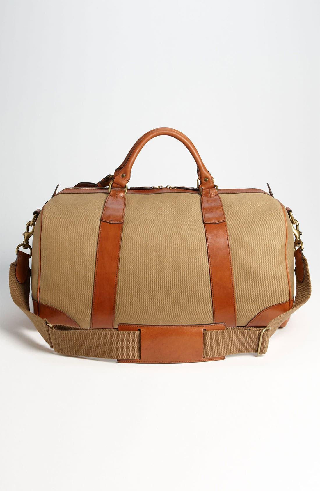 Alternate Image 2  - Polo Ralph Lauren Canvas Gym Bag