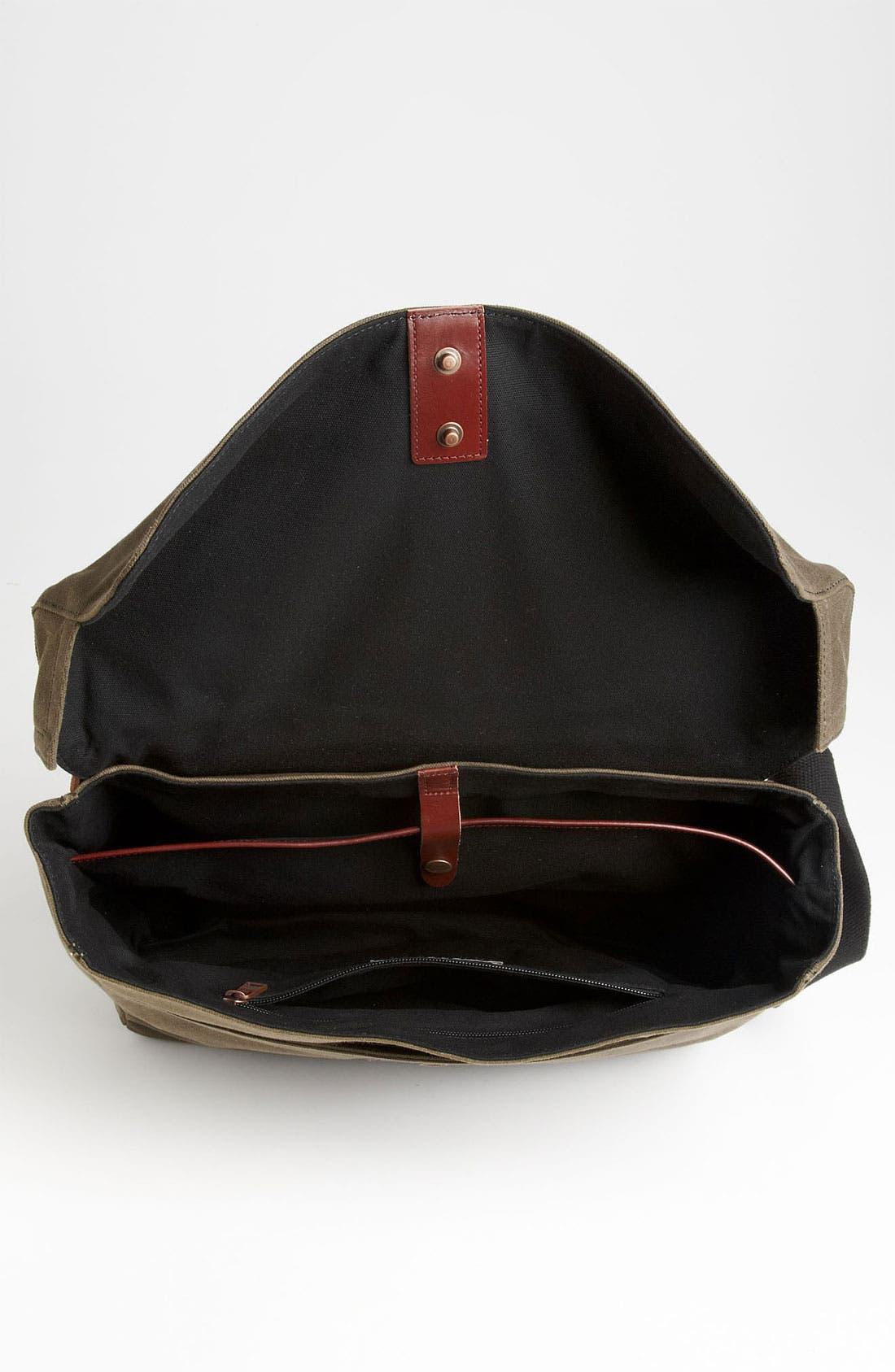 Alternate Image 3  - Jack Spade 'Cap' Canvas Messenger Bag