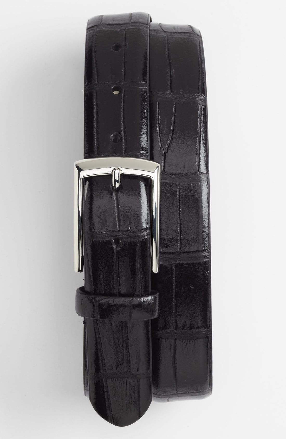 Alternate Image 1 Selected - John W. Nordstrom® Alligator Embossed Belt