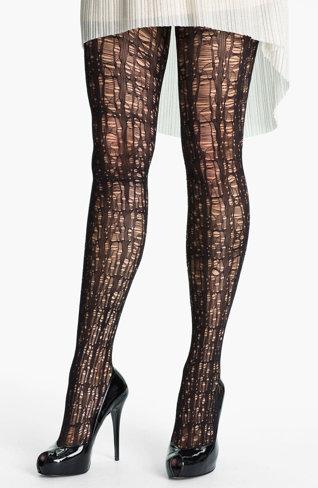 Alternate Image 1 Selected - Pretty Polly Striking Ladder Tights