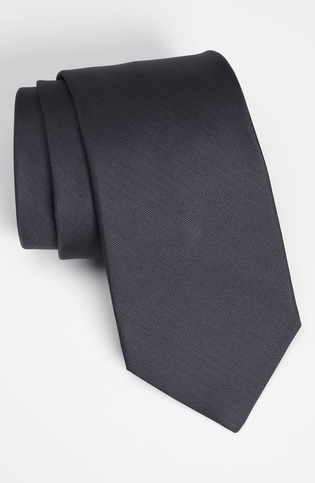Alternate Image 1 Selected - Michael Kors Woven Silk Tie (Tall)