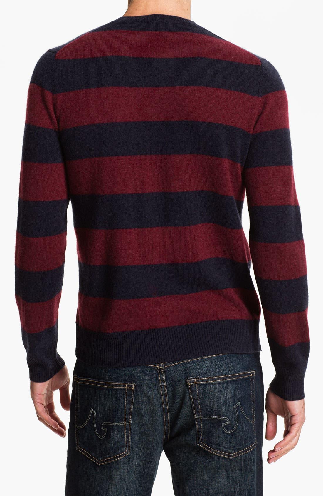 Alternate Image 2  - Cullen89 Cashmere Crewneck Sweater