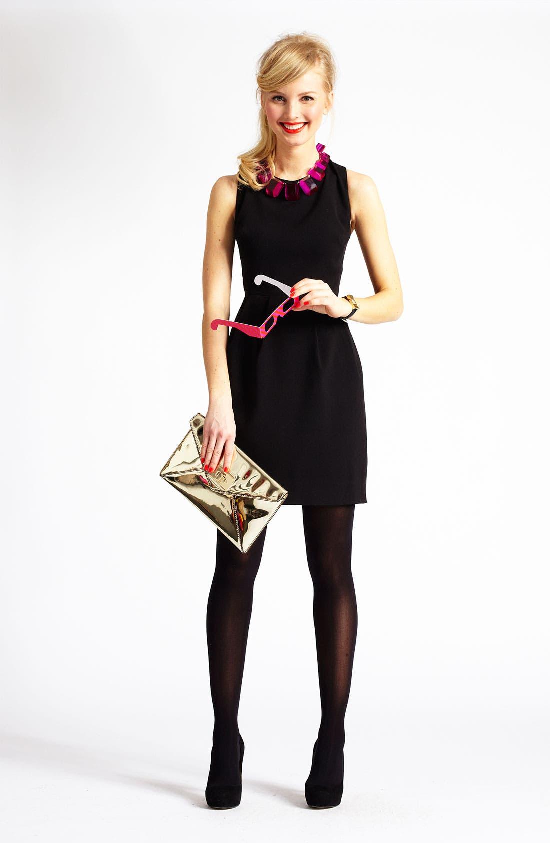 Alternate Image 4  - kate spade new york 'tiff' pleated sheath dress