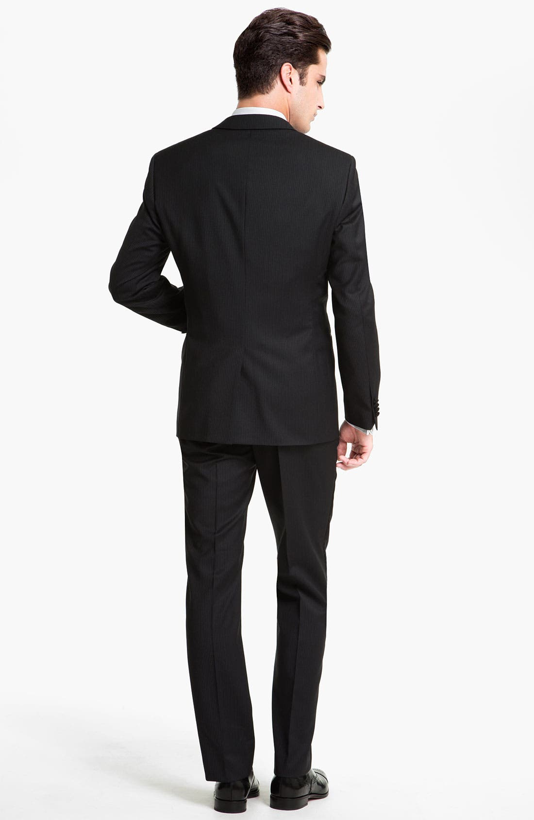 Alternate Image 3  - BOSS Black 'The Joy/Gala' Trim Fit Stripe Tuxedo