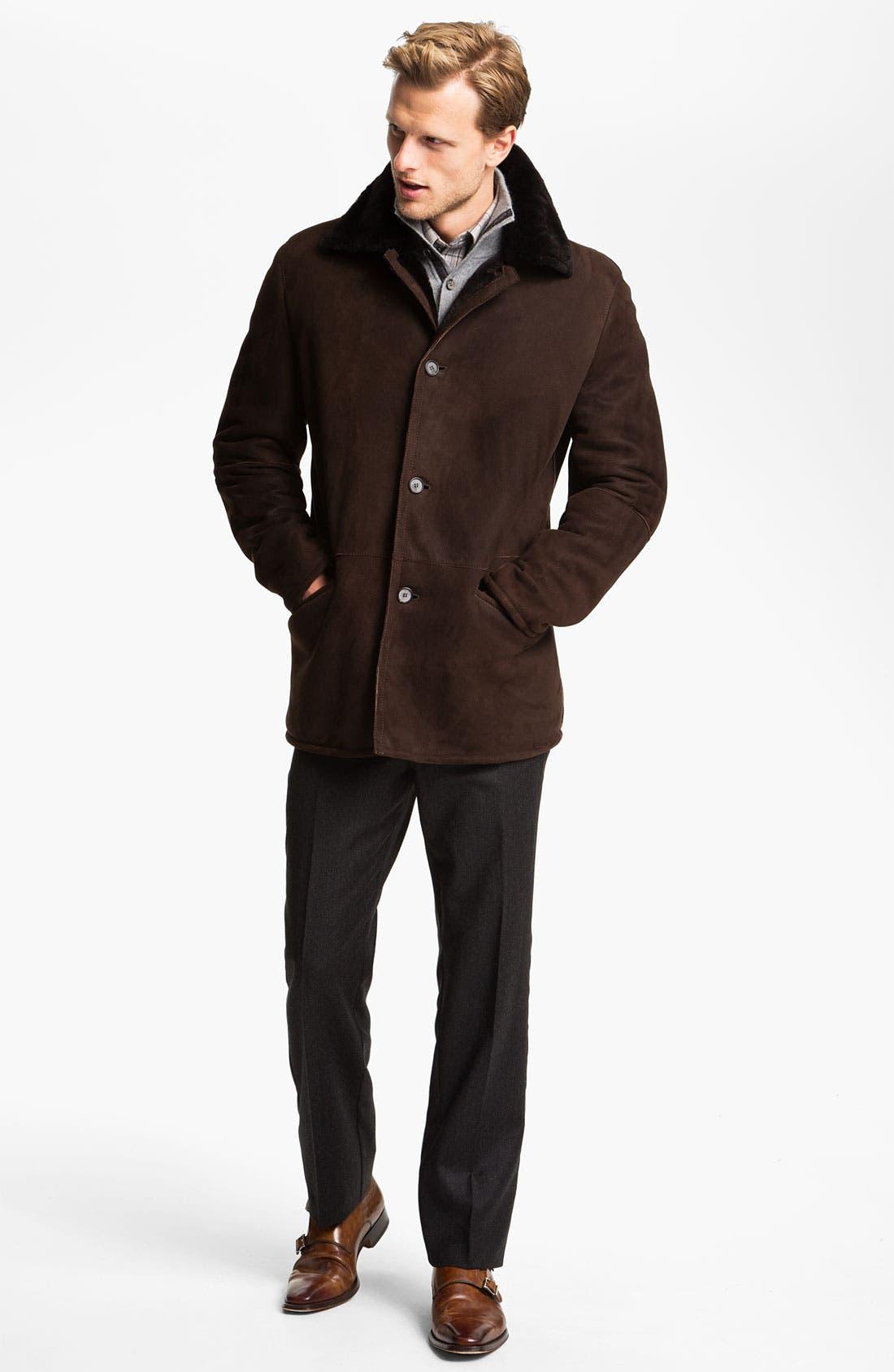 Alternate Image 4  - Orlandini Wool & Angora Mock Neck Sweater