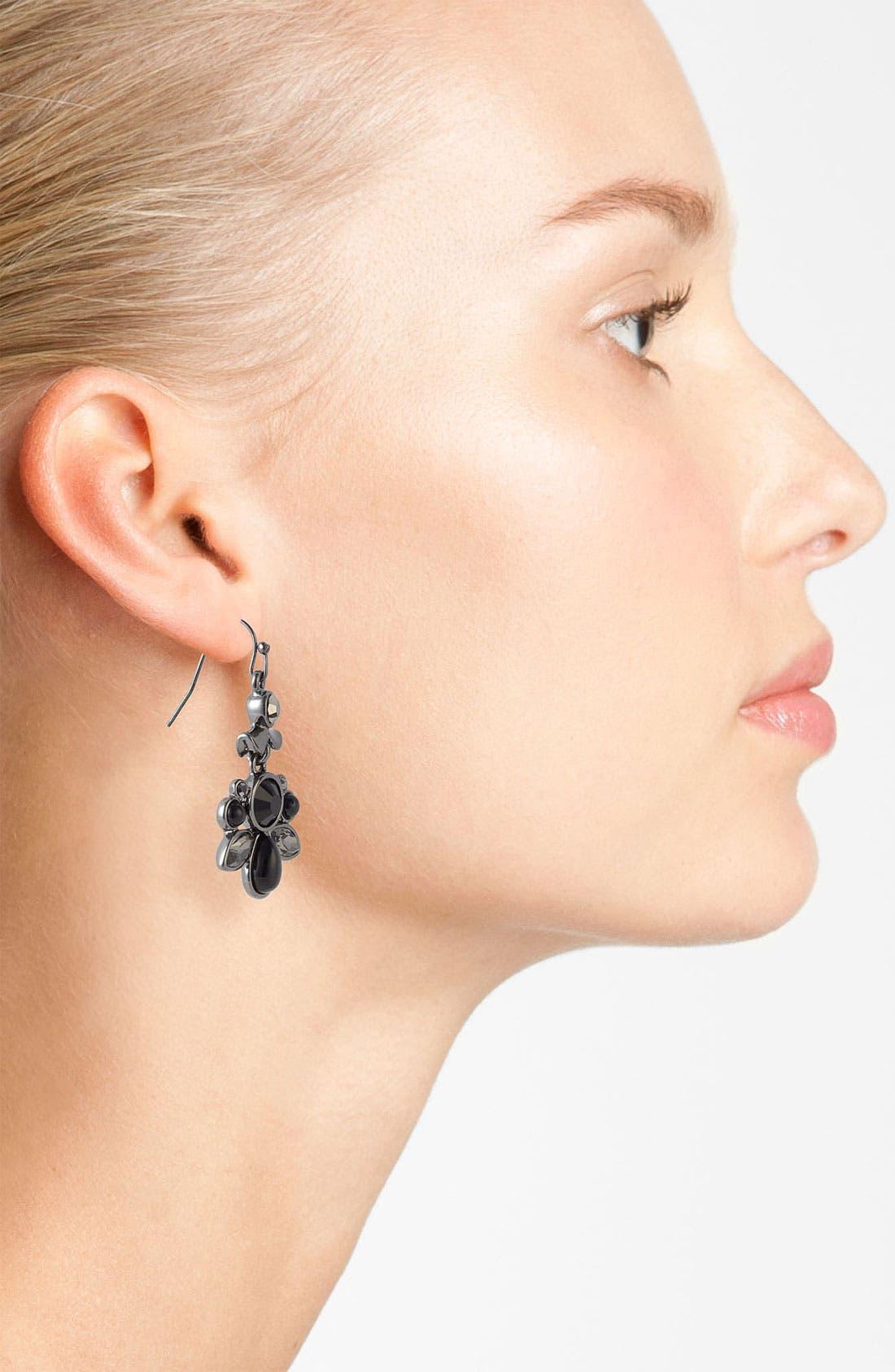 Alternate Image 2  - Nordstrom 'Dark Glamour' Drop Earrings
