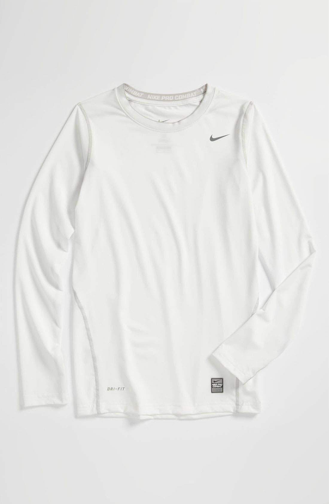 Alternate Image 1 Selected - Nike 'Core Compression' Top (Big Boys)